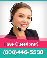 Our customer service is available 24/7. Call us at (800) 446-5538.